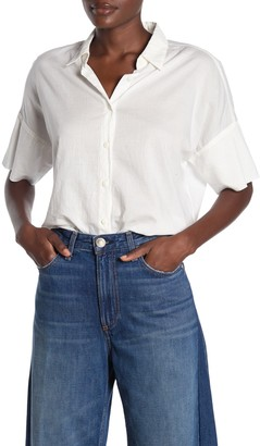 Rag & Bone Short Dolman Sleeve Shirt