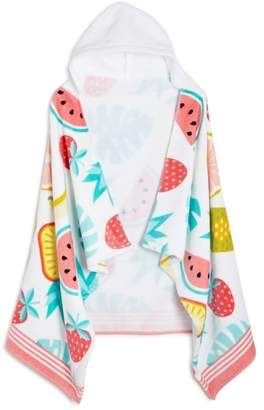 Fruit Punch Kids Hooded Beach Towel