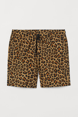 H&M Patterned Cotton Shorts