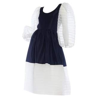 N. Non Signé / Unsigned Non Signe / Unsigned \N White Polyester Dresses
