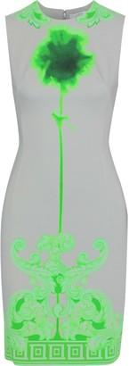 Versace Printed Ponte Dress