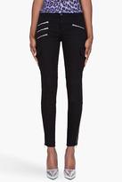 J Brand black zipper-accented The Brix jeans