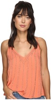 Free People BB Embellished Cami Top Women's Clothing