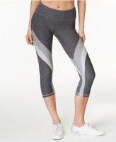 Calvin Klein Colorblocked Cropped Leggings