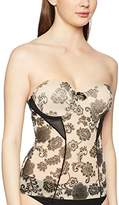 Body Wrap Women's Floral Girdle - - 8 (Brand size: S/38)