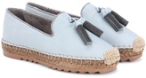 Brunello Cucinelli Leather espadrilles