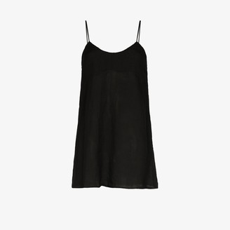 Anémone Scoop Neck Slip Dress