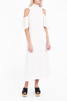Ellery Cut Away Shoulder Dress