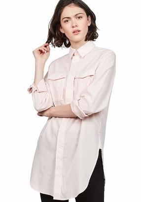 G Star Women's H-a 2pkt Elongated Shirt Wmn L/s Blouse