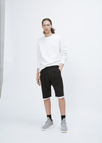Raf Simons black regular shorts with picture