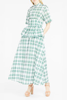 Rosie Assoulin Gingham Midi Dress