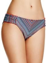 Lucky Brand Mosaic Tab Hipster Bikini Bottom