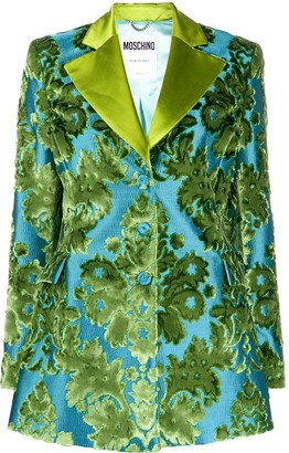 Moschino Tapestry jacquard-woven blazer