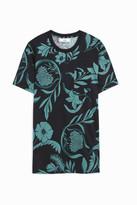 Ami Alexandre Mattiussi Floral Jersey T-Shirt