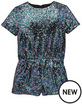 Very Sequin Party Playsuit
