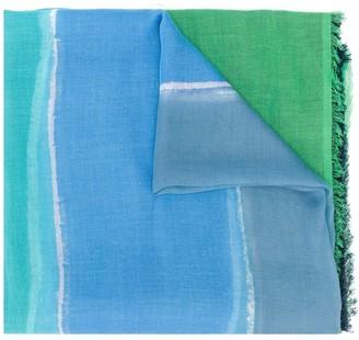 Faliero Sarti Gisella colour block scarf