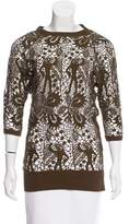 Isabel Marant Guipure Lace Knit Top w/ Tags