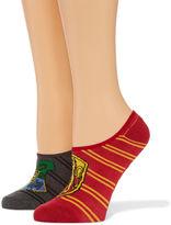 Asstd National Brand 2 Pair Licensed Liner Socks - Womens