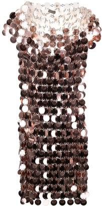 Paco Rabanne Paillette-Embellished Mini Dress