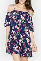 Sugar Lips Floral Off The Shoulder Dress