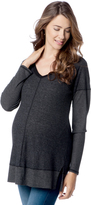 A Pea in the Pod Splendid Long Sleeve V Neck Maternity Top