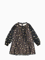 Kate Spade Toddlers scattered star dress