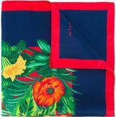 Kiton jungle print pocket square