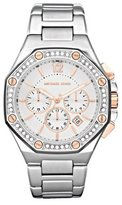 Michael Kors Women's MK5504 Silver Stainless-Steel Quartz Watch with Dial