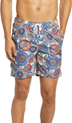 Onia Charles Floral Swim Trunks
