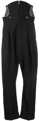 Vivienne Westwood Mid-Rise Dropped Crotch Trousers