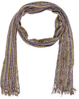 Missoni Metallic Open Knit Scarf