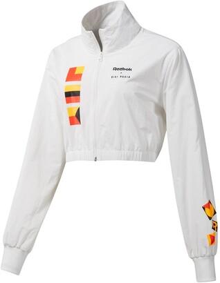 Reebok x Gigi Hadid Cropped Track Jacket