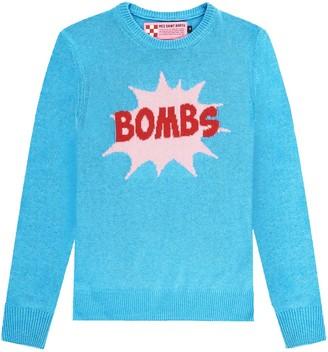 MC2 Saint Barth Bombs Light Blue Womans Sweater