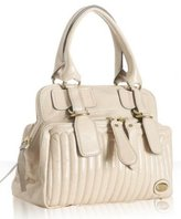 Chloe beige calfskin 'Bay' medium satchel