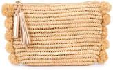 Loeffler Randall straw clutch