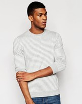 United Colors Of Benetton 100 Cotton Stripe Knitted Jumper