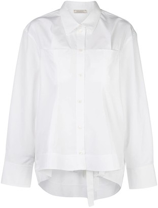 Nina Ricci Long-Sleeve Oversized Shirt