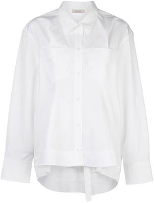Nina Ricci long-sleeve oversized shirt
