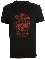 Alexander McQueen skull motif t-shirt