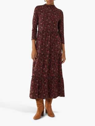 Warehouse Paisley Print Dress, Red Pattern