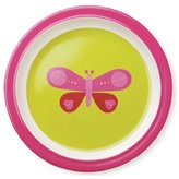 Crocodile Creek Pink Butterfly Plate
