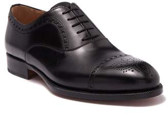 Magnanni Makers Wingtip Leather Oxford - Wide Width Available