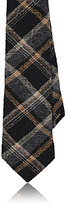 Alexander Olch MEN'S PLAID WORSTED WOOL NECKTIE