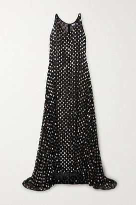 Ashish Laxmi Embellished Georgette Gown - Black