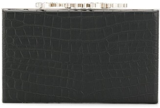 Philipp Plein Square Clutch