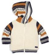 Catimini Baby & Toddler's Faux Fur Zip-Front Hoodie