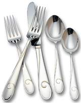 Waterford Ballet Ribbon 18/10 Stainless Steel 5-Piece Place Setting, Service ...