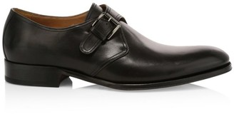 To Boot Connor Monk-Strap Leather Shoes