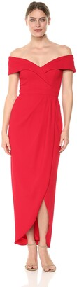 Xscape Evenings Women's Midi Sweet Heart Dress