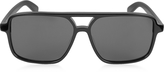 Saint Laurent SL 176 Acetate Shield Frame Unisex Sunglasses